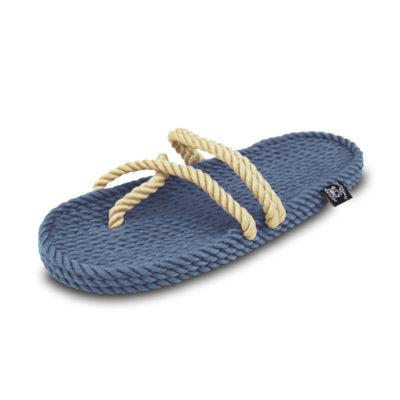Anesis Denim Camel vegan sandals