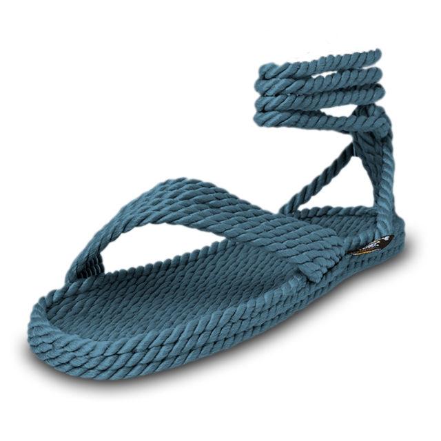 Bondi Denim vegan sandals